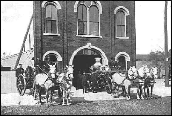 According to the Extra Alarm Association of the Twin Cities, Station 3 opened as a horse-drawn unit in 1872 and closed in 1956. Courtesy Extra Alarm Association of the Twin Cities