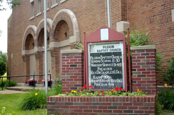 Established in 1863, Pilgrim Baptist Church was the first congregation for African Americans in Minnesota.