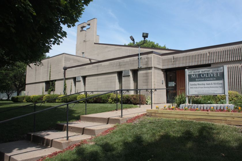 Mt. Olivet Baptist Church at 451 Central is another church with a long history in Rondo.)