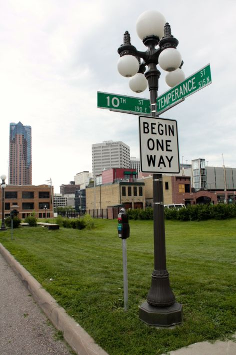 One of my favorite street names, Temperance Street, is located on the edge of Downtown and Lowertown. An Alcoholic Anonymous club should be located somewhere on Temperance.