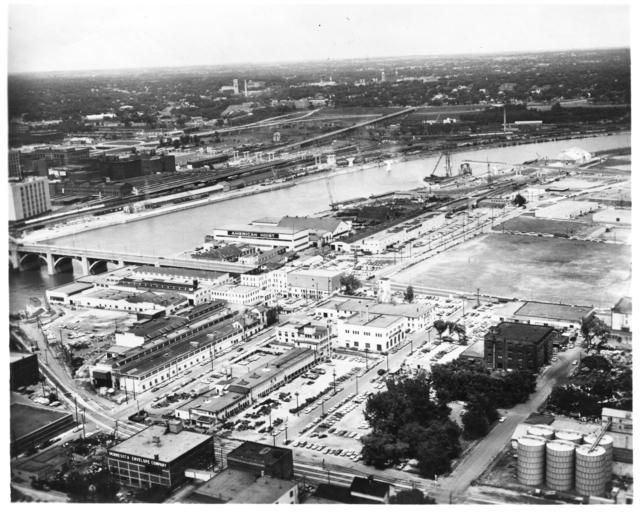 An aerial look at American Hoist and Derrick in 1963.