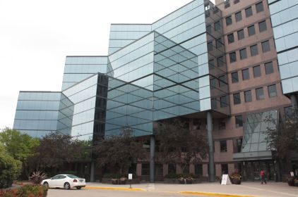Comcast's regional headquarters are the major tenant in this building.