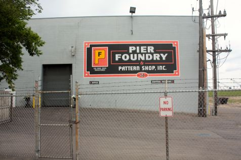 Pier Foundry does metal casting for many industries. According to the company website, the factory remains in the same place as the original building which opened in 1889.
