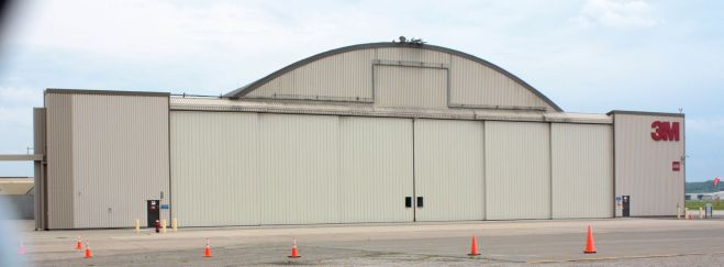 Today 3M uses one of the former Riverside Hangers.