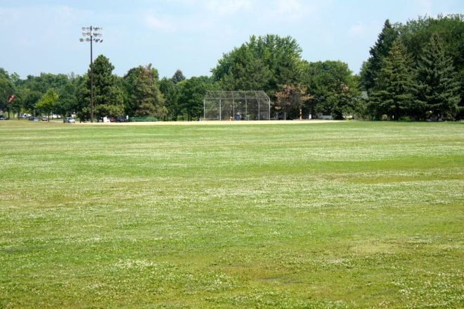 With softball season done for most teams, the fields were wide open this beautiful Saturday.