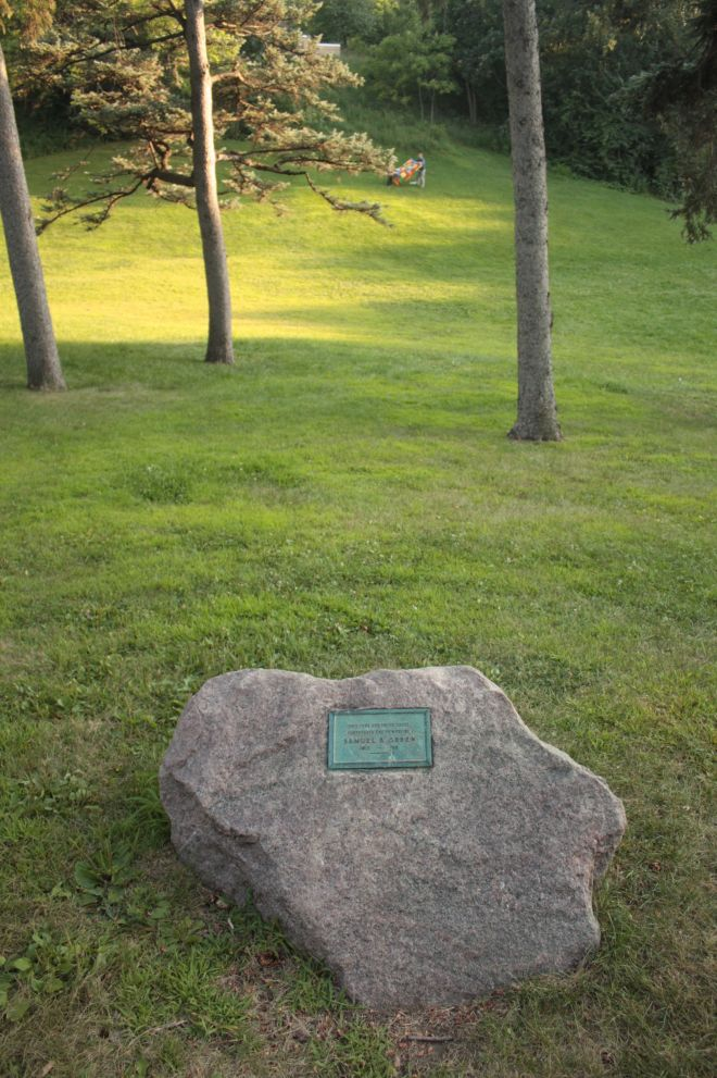 Green, a professor and first head of the Horticulture Department at the University of Minnesota, also wrote many books. Among them, Amateur Fruit Growing, Forestry in Minnesota and Vegetable Gardening.