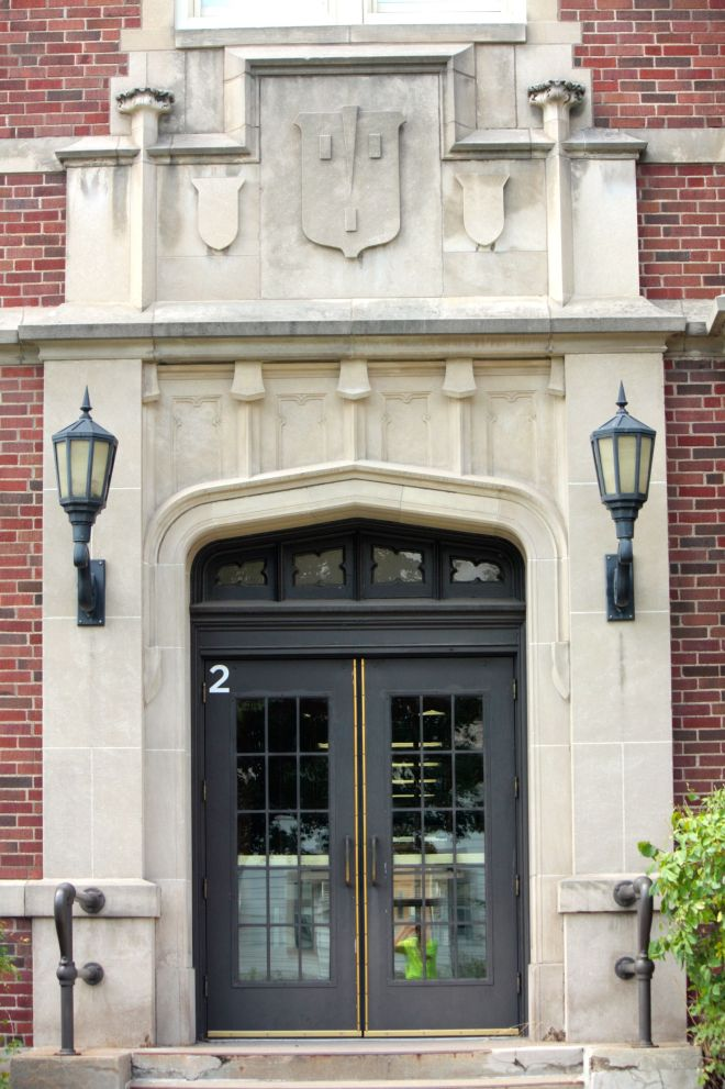 Wilson's main entrance.