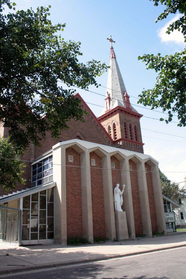 St. Vincent de Paul Catholic Church.
