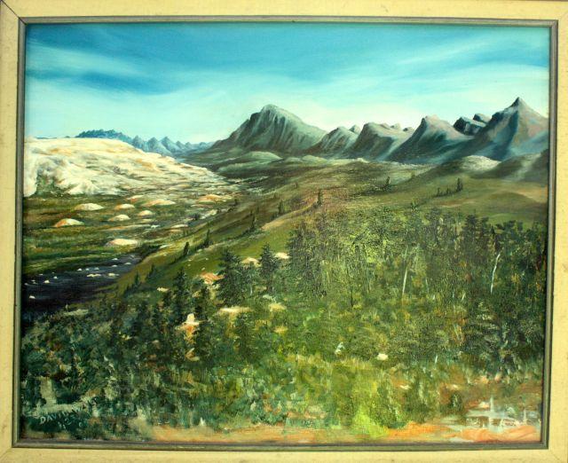 Hot Springs painting 1