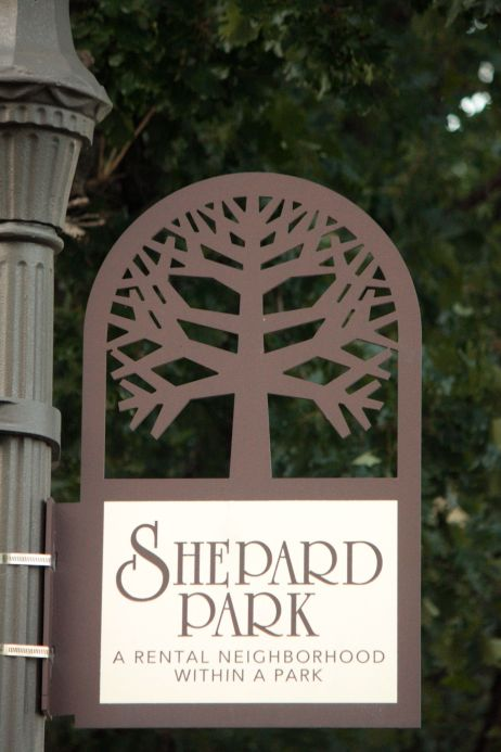 """Youngman is also part of what some of the area apartment complexes have dubbed """"Shepard Park."""""""