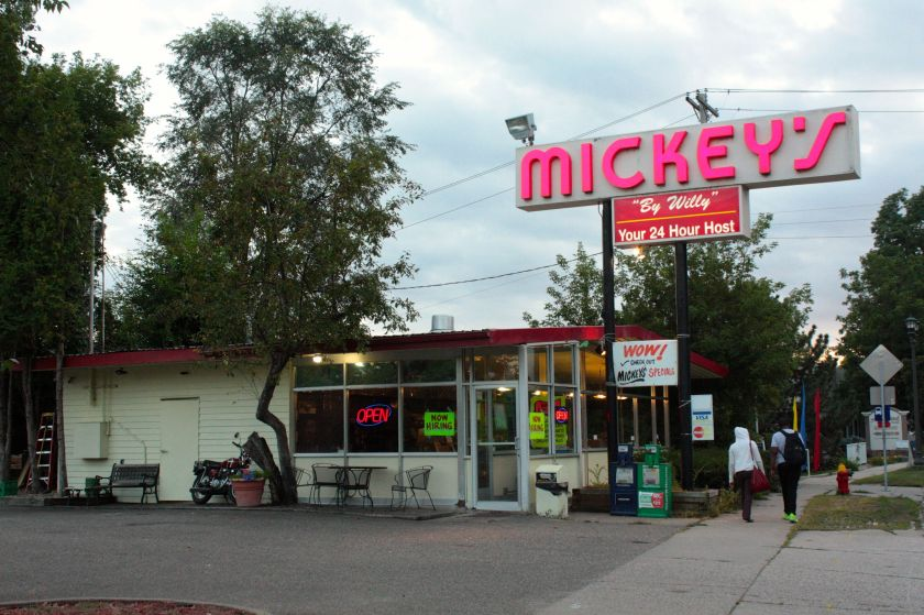 """Mickey's """"By Willie"""" at 1950 West 7th Street."""