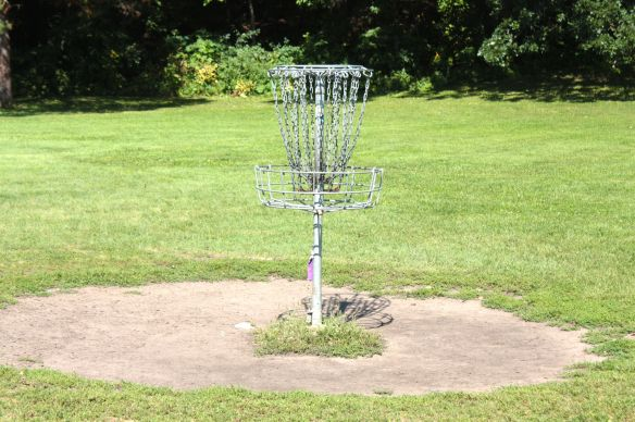Today about the only activity around the grounds of the old pool is Frisbee golf and the occasional hiker.