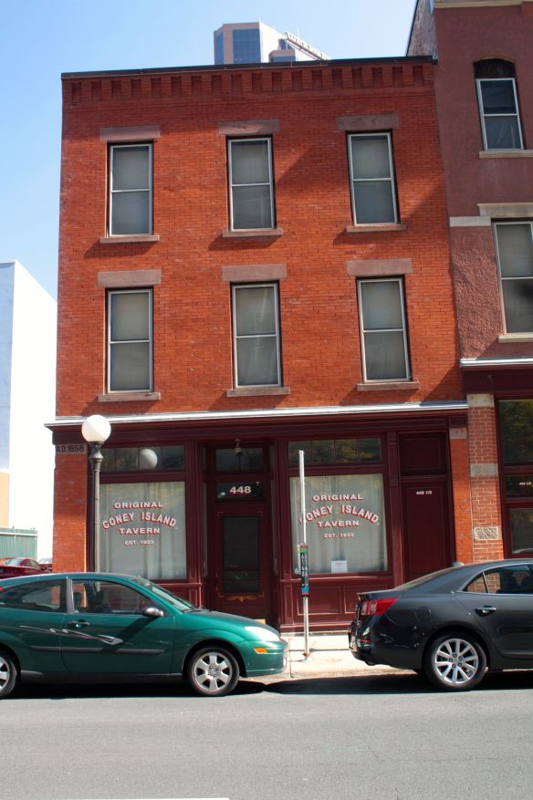 This building, 448 St. Peter, is the oldest non-residential building in Saint Paul and Minneapolis still in the spot where it was built. (7)
