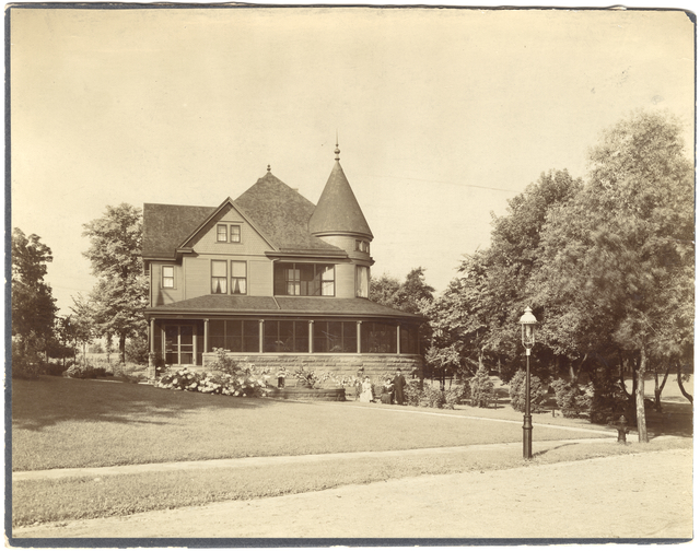 Wessle house 1905. Courtesy Minnesota Historical Society.