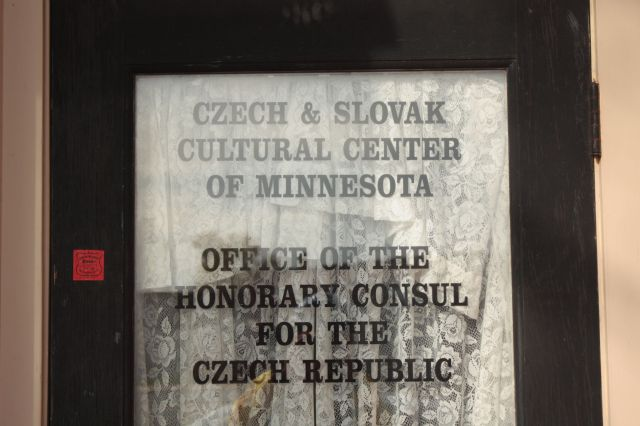 The Honorary Consulate of the Czech Republic, Robert E. Vanasek, has an office at C.S.P.S. Hall.