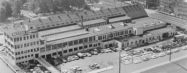 The Waterous Company's plant on Fillmore Avenue circa 1960. Courtesy Minnesota Historical Society.