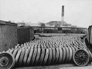 The Griffin Wheel Company, circa 1918