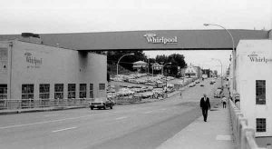 Whirlpool Corporation in the early 1970s. Courtesy Ramsey County Historical Society.