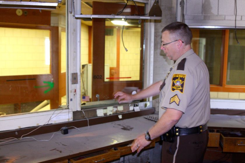 Sergeant Eastham explains what he did when he worked in the control.