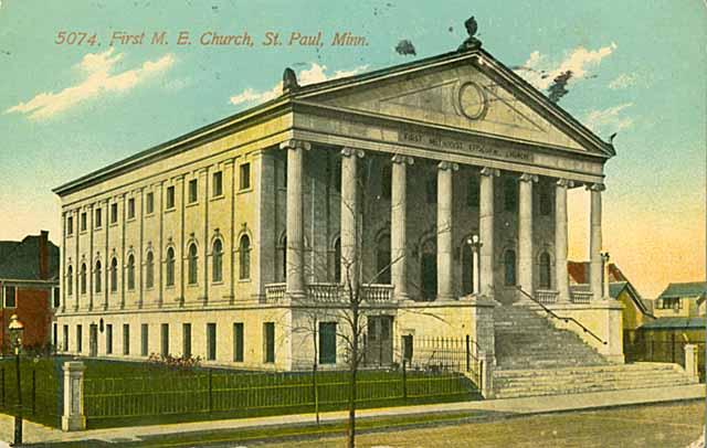 First Methodist Episcopal Church, 43 N Victoria Street c 1910