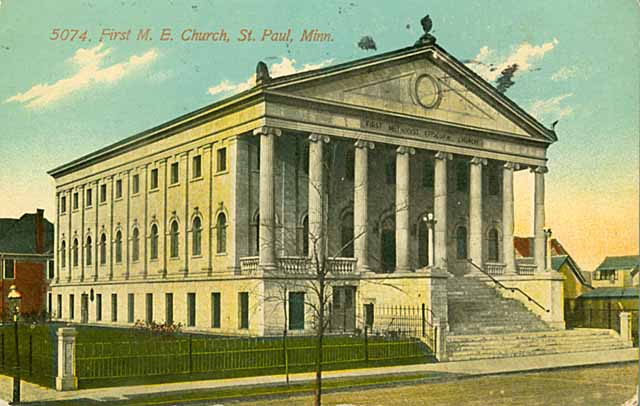 First Methodist Episcopal Church, 43 N Victoria Street c 1910