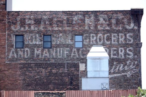 J.H. Allen was a wholesale grocery business. The building is more than 100 years old.