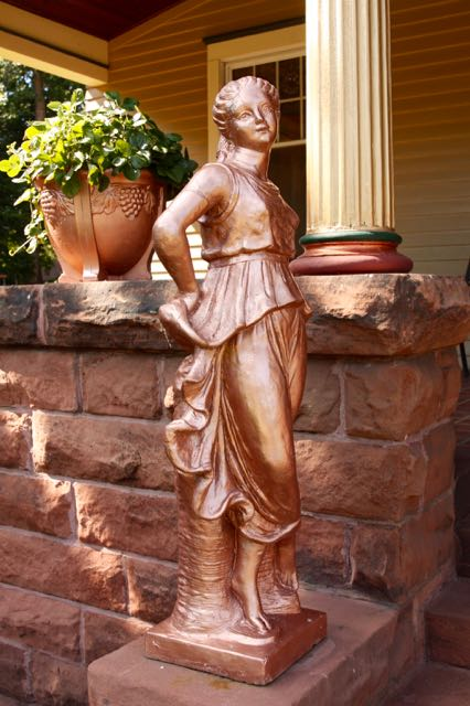This statuary is another type of painted lady.