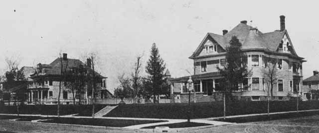 The Wilson/Joseph Eisinger House in about1902.