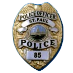 The Saint Paul Police Department had women officers since the mid-1970s but it wasn't until 1985 when the new badges reflected the fact with the words 'Police Officer' supplanting the out-of-date 'Patrolman'.