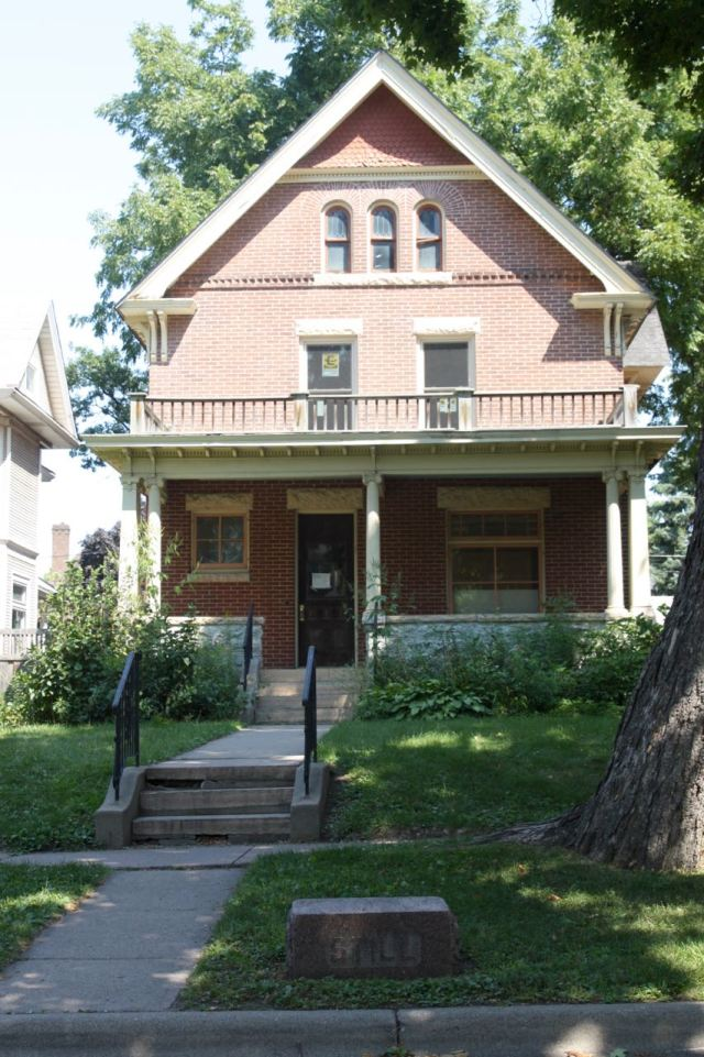 The brick and stone house at 1937 Selby Avenue dates to the Victorian era – 1888 to be exact, according to Ramsey County property records.