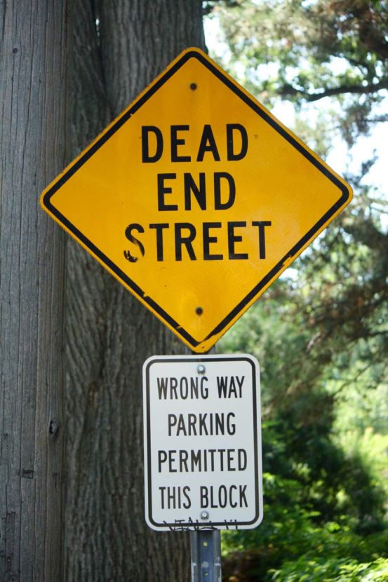 These unusual streets have some unusual signage.