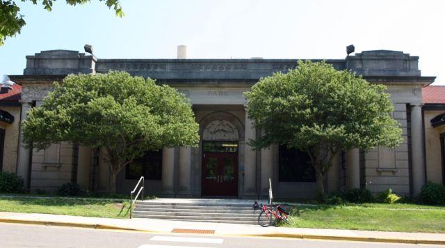 A portion of the original 1917 Como Park Elementary School.