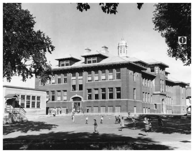 McKinley Elementary School in 1949. Courtesy Minnesota Historical Society.