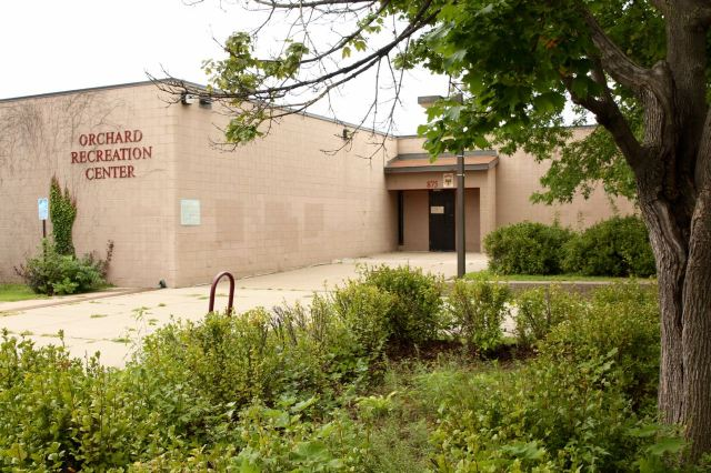 Orchard Rec Center, in Orchard Park, on Orchard Street.