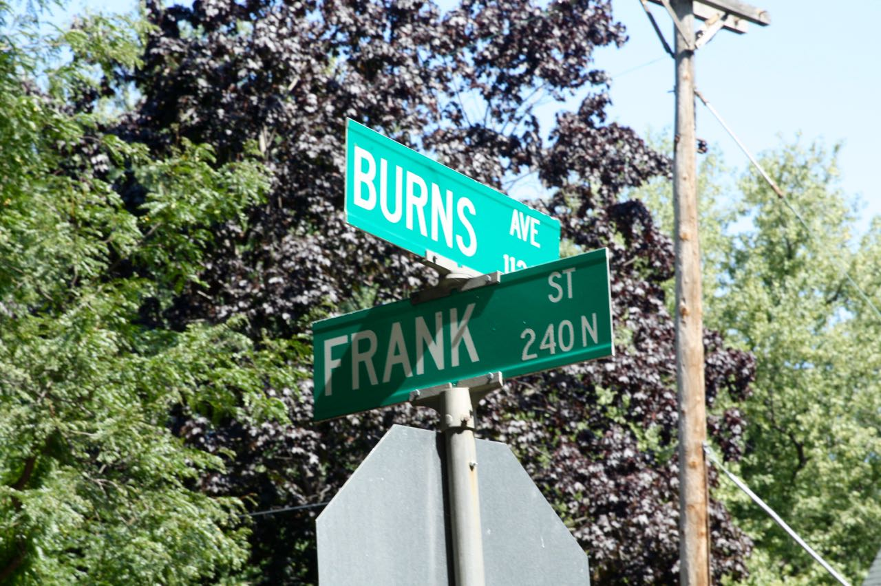 The intersection of Frank and Burns is right out of the 1970s TV show M*A*S*H.