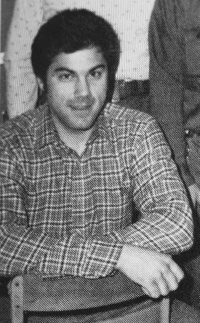 A young John Gelao from the 1980 Central yearbook.
