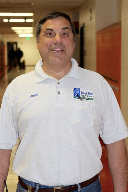 John Gelao has worked at Saint Paul Central High School since 1979. He's been there longer than any other current employee.
