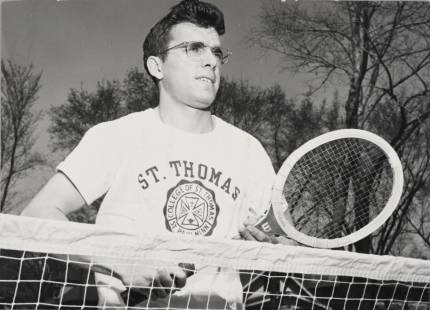 Bucky Olson at St. Thomas College in 1948.