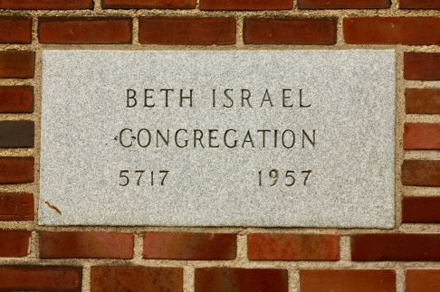 Congregation Beth Israel moved into the building after Temple of Aaron moved to new synagogue on River Road in Highland Park.