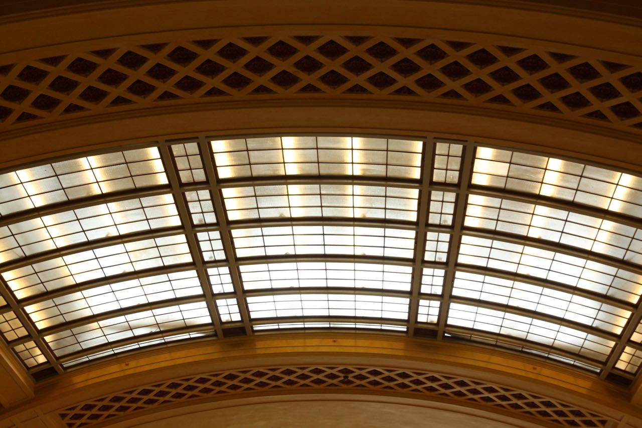 Another view of the skylights.
