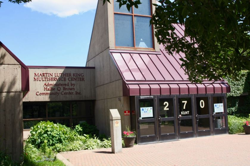 The Martin Luther King Multiservice Center is home to both Hallie Q. Brown and the world renowned Penumbra Theatre.