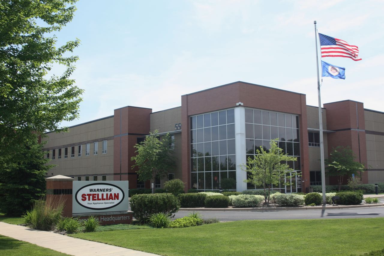 Appliance retailer Warners' Stellian company headquarters...