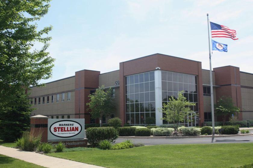 Appliance retailer Warners' Stellian company headquarters...