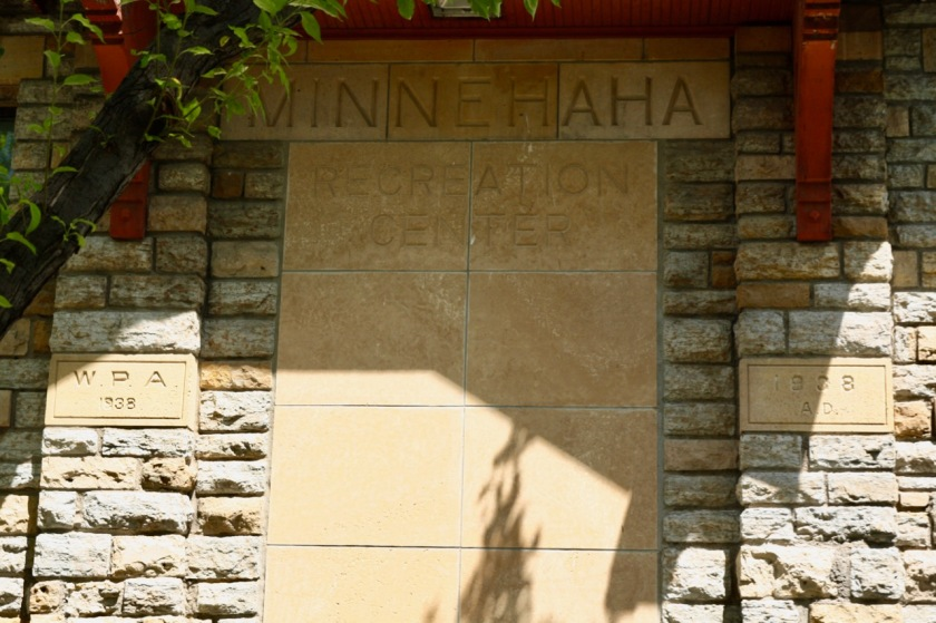 The original entrance to West Minne.