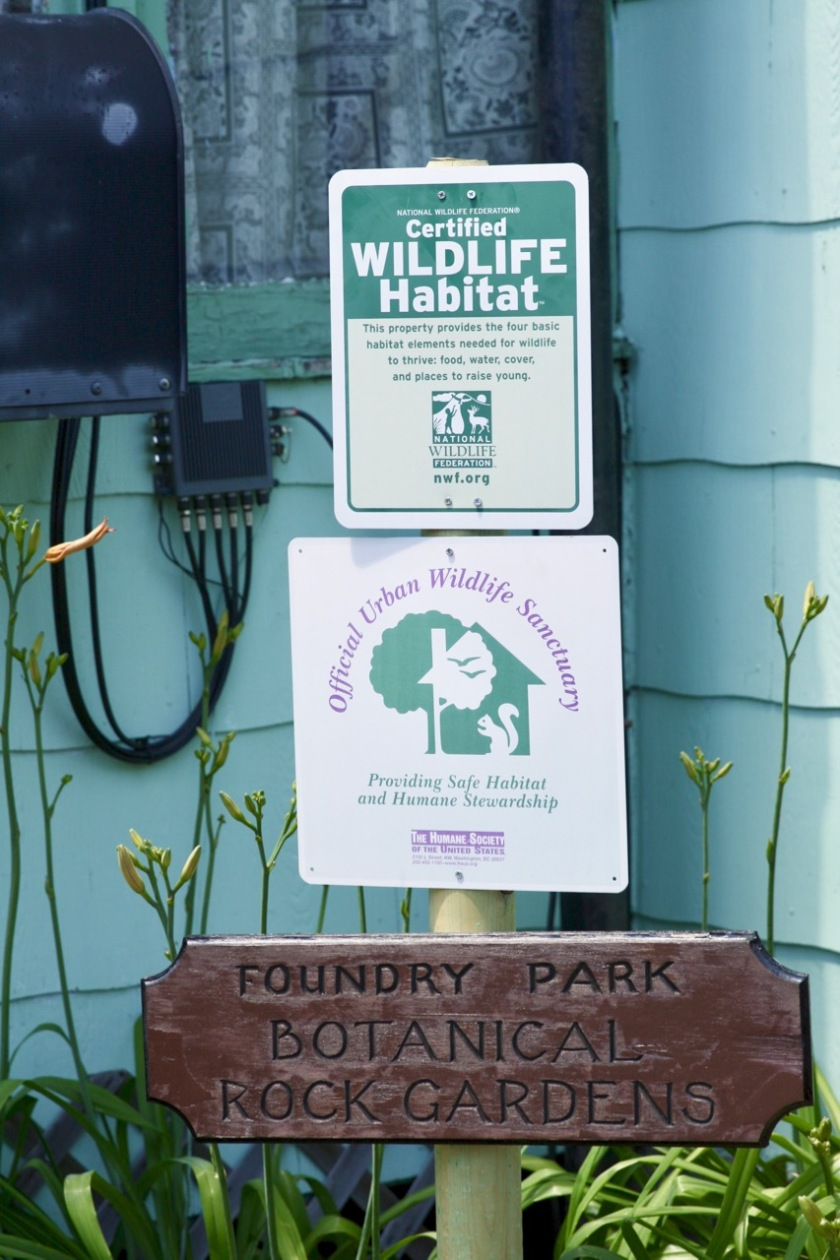 The Foundry Park sign, bottom, is what lead me to investigate and meet Kevin O'Connor.