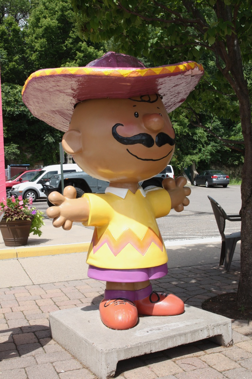 Latino Charlie Brown from the Peanuts On Parade.