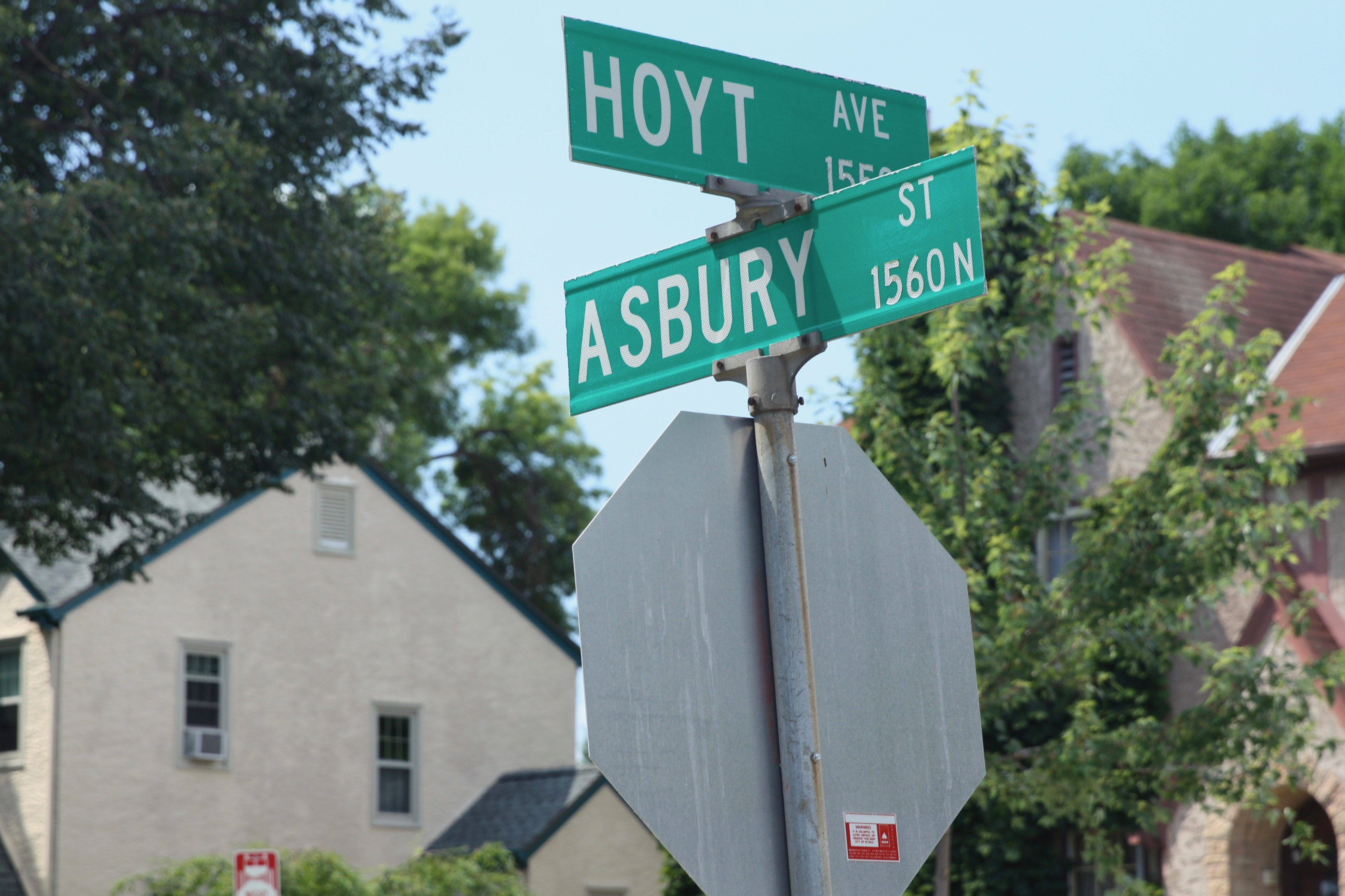 "Asbury Street was named in 1881 for Bishop Francis Asbury, one of the first two bishops of the Methodist Episcopal Church in the United States. So says Don Empson in ""The Street Where You Live."" Empson adds that the bishop's name was attached to the street due to its proximity to Hamline University, which got support from the Methodist Episcopal Church."