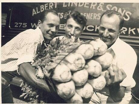 More celery from the Linders circa 1935. Courtesy Pinterest/Sharon Amorosa