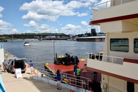 Mississippi RIver Tour Boat