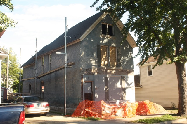 The house, built in 1880 in the West End, was already quite an improvement from how the house looked on Google Maps in 2009. By 2014, 276 Nugent was listed among Saint Paul properties most likely candidates for demolition. Project for Pride in Living purchased 276 Nugent in late 2015 and almost miraculously restored it. The property was sold in March 2018 for more than $226,000.